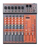 混合コンソールまたはミキサーまたはSoudのミキサーまたは専門家のミキサーの/Console/SoundコンソールかブランドのミキサーCx6u