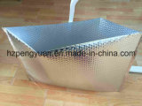 Sac thermique de refroidisseur de sac de bulle métallique de clinquant pour le fruit et les produits de la ferme