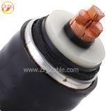 Câble d'alimentation isolé par Shielded/PVC métallique