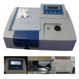 спектрофотометр визави дешевого луча цены 200nm-1000nm одиночного UV