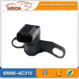 De gouden Sensor van de Positie van de Trapas van de Auto van de Leverancier voor OEM 6m86-6c315 van de Doorwaadbare plaats