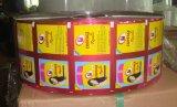 Gravüre-weicher Plastik druckte lamellierten Verpackungsmaterial-kosmetisches Quetschkissen-verpackenfilm gedruckten Plastik