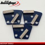 De zachte Malende Schoenen van de Vloer van het Graniet van de Band voor hard het Concrete Oppoetsen