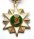 2017 medaglie luminose di rivestimento del più nuovo della stella di figura smalto molle dell'oro
