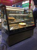 2017 новых цен витрины торта супермаркета типа/охладитель торта/стеклянный шкаф индикации торта