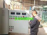Pianta di riciclaggio nera dell'olio per motori, strumentazione di distillazione sotto vuoto dell'olio residuo