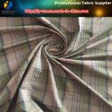 Ткань полиэфира Aty покрашенная пряжей с мягкой ворсиной Handfeeling для рубашки