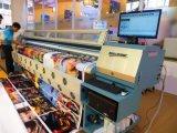 Contexto da impressora da bandeira do cabo flexível do grande formato de Infiniti 3208r que anuncia a impressão da bandeira