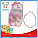 Stuk speelgoed van de Halsband van de Toebehoren van het meisje het Plastic met Suikergoed