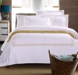 100% lençóis de cama de algodão penteado egípcio para o hotel (DPF1071002)