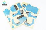 도매 고품질 주문 서류상 인쇄 레이블 접착제 스티커