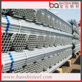 Tubo de aço preto ASTM tubulação galvanizada tubulação transparente vazada para construção