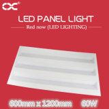 éclairage supplémentaire carré de voyant de 60W 600X1200mm DEL