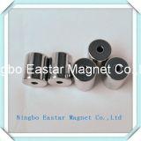 Magneet van de Magneet van de Cilinder van NdFeB de Zeldzame met een Gat van het Centrum