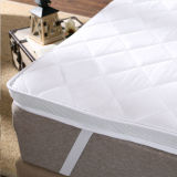 Polyester Microfiber Filling Hotel Matelas Pad / Mattress Topper