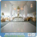 Produit de luxe innovateur neuf DEL Dance Floor blanc pour des événements de mariage