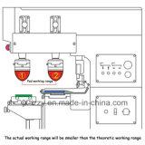 Pequeña impresora auto Semi- de la pista del vinilo