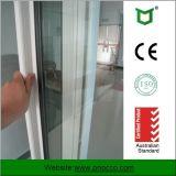 Porte en verre de glissement en aluminium avec la double glace