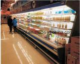 슈퍼마켓 먼 냉각 장치 열려있는 냉각장치