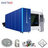 Machine de découpage industrielle de laser en métal 500With1000W, machine de découpage de laser en métal de commande numérique par ordinateur