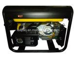 ruedas 6.0kw y P-Tipo generador portable de la maneta de la gasolina