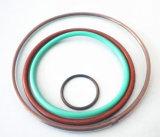 Joint circulaire enduit de PTFE, caoutchouc de fluor de faisceau intérieur