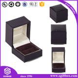 Cadre réglé personnalisé de velours de Pacakging de bijou fabriqué à la main de luxe