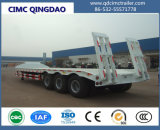Cimc 60半トン3の車軸最もよい価格の低いベッドのトラックのトレーラー