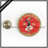 Pin de metal para o uso dos acessórios de roupa ou a decoração (BYH-101177)