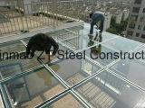Aço da estrutura do carbono para casa pré-fabricada com projeto e instalação