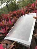 Pare-chocs en plastique résistant aux rayons modernes Pare-soleil Toit ouvrant Canopée