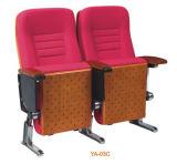 Muebles del sitio de los media y silla económicos cómodos rojos del teatro