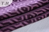 2017 tissus 100% de polyester de pourpre pour le sofa et les meubles (FTH32095)