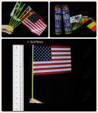 Staatsflagge-Glühen-Markierungsfahnen-populäre Markierungsfahnen-heiße verkaufenmarkierungsfahne (GQT5275)