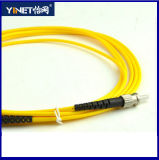 St al simplex los 3m del duplex del solo modo del cable de la corrección de la fibra del St