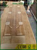木製のカシの/Teakイラク、中東ののためのベニヤによって形成されるHDFのドアの皮市場
