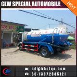 Abwasserkanal-LKW-Absaugung-Abwasser-LKW-Vakuumbecken-LKW des niedrigen Preis-4m3