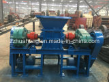 鉱山機械の企業の木製のプラスチックまたはゴムまたはタイヤのシュレッダー機械