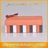 Коробка подарка бумаги оптовой продажи цены по прейскуранту завода-изготовителя типа причудливый коробки роскошная для платьев