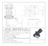 Débitmètre à pression pneumatique de la série Kbq-01A de gaz d'air