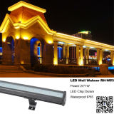 Arandela de pared LED de alta potencia RGB LED de 24 * 1W LED