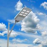 Le réverbère solaire du détecteur de mouvement DEL partie la lumière de Pôle de lampe de ferme
