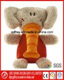 Brinquedo bonito do luxuoso do presente do bebê do brinquedo macio do elefante