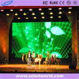 Visualización de fundición a presión a troquel a todo color de alquiler de interior de la muestra de P5 LED para hacer publicidad