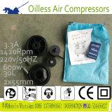 550W 30L de Draagbare Olievrije MiniCompressor van de Lucht van de Band