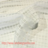 Ткань полиэфира покрасила ткань ткани решетки ткани жаккарда химически для тканья дома занавеса платья одежды