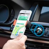 磁気エア・ベント車の台紙の電話ホールダーを回す360度