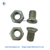 Usinage OEM Copper DIN934 Hex Nuts Brass Fasteners