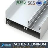 Profil en aluminium du marché du Nigéria pour la porte coulissante de guichet de tissu pour rideaux