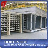 Proceso de fabricación de la tarjeta de yeso con servicio de la instalación
